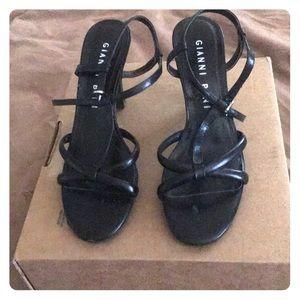Gianni Bini black sandals.  Size 6